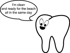 Dental Tooth Character with quote
