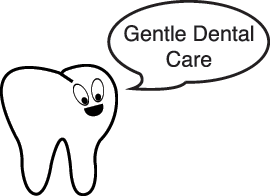 Dental Tooth Character with quote for Ocean City Dental Center